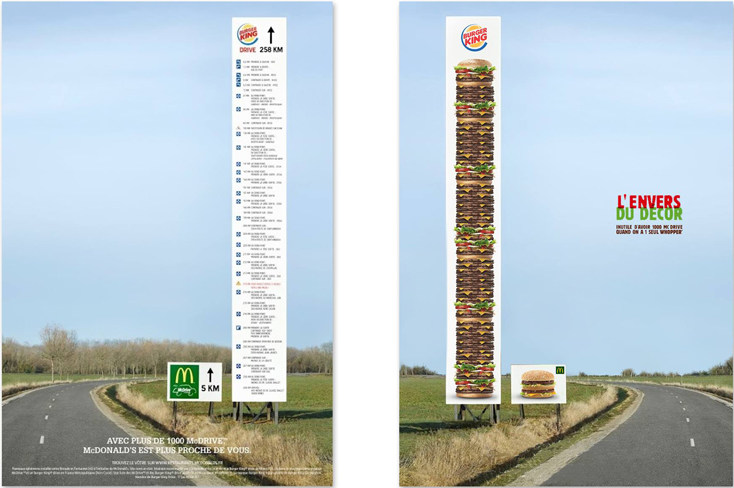 Mc Donald's vs Burger King